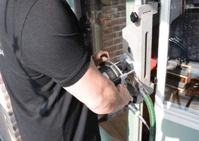 infrezen cilinder driepuntslot