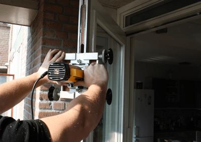 infrezen cilinder deurbeslag driepuntssluiting
