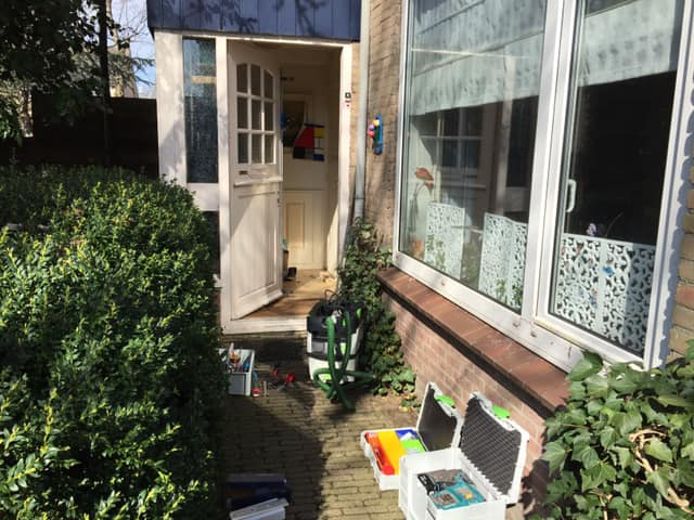 Driepuntssluitingen Voordeur en achterdeur