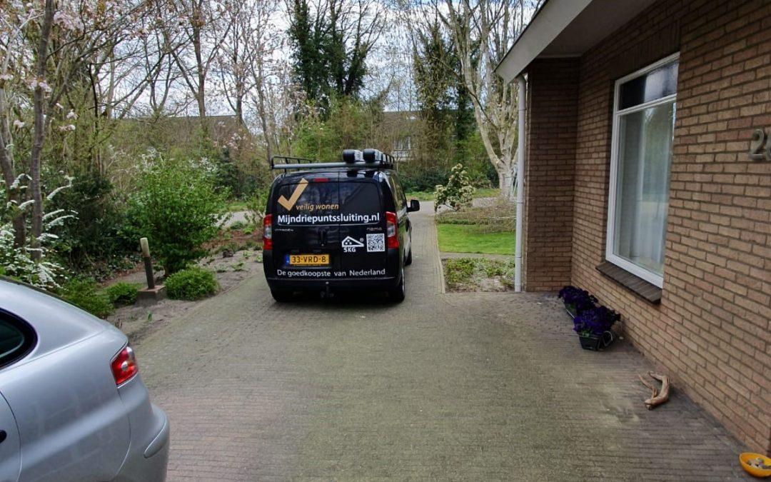 Voordeur en achterdeur Westerbork