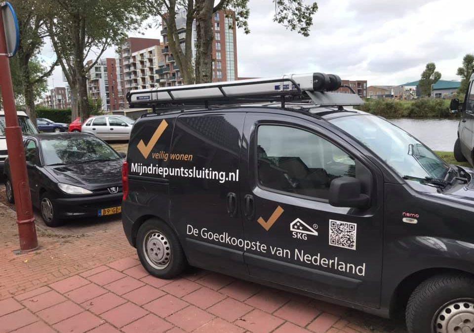 Driepuntssluiting centrum Utrecht geplaatst
