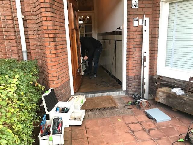 Den Haag oude voordeur beveiligd