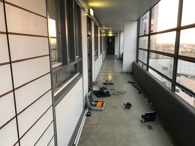 Rotterdam centrum appartement beveiligd