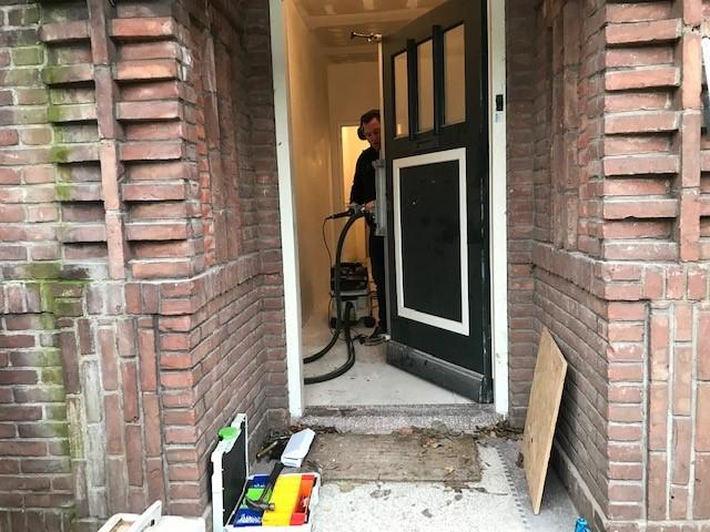 Zaamslag Villa beveiligd voordeur en achterdeur