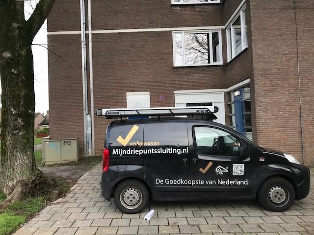 Maastricht appartement voordeur beveiligd