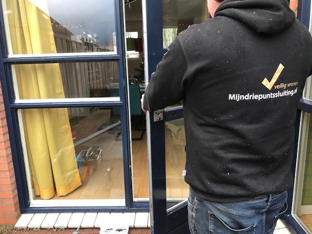Utrecht openslaande deuren beveiligd