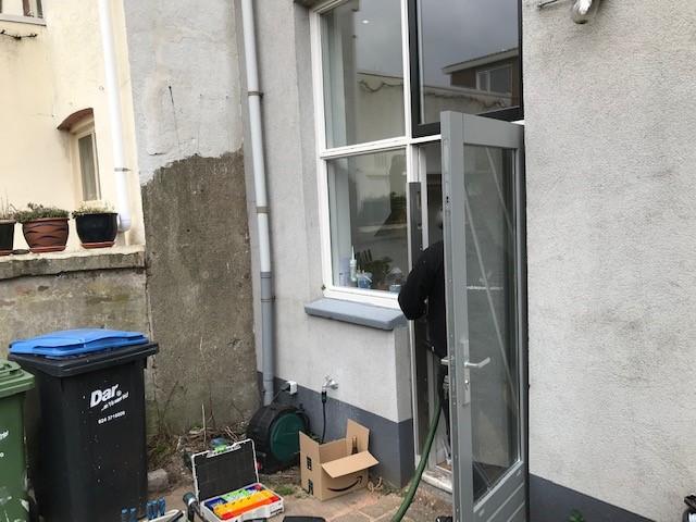 Nijmegen villa beveiligd 3 deuren