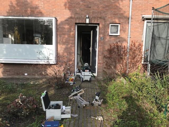 Renkum voordeur en achterdeur beveiligd